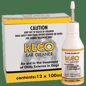Kleo Ear Cleaner for dogs-100mL